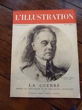 L'ILLUSTRATION 5036 * 9 septembre 1939 * La Guerre ! ! * Paquebot Pasteur