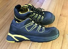 Dunlop Safety Shoe w/ Steel Toe, Work Safety Shoes, Grey Yellow, Men's Sz 7 - 41