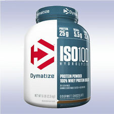 DYMATIZE NUTRITION ISO 100 (5 LB) hydrolyzed whey protein isolate % pre xt elite
