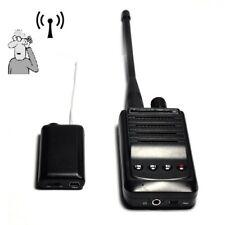 Wireless UHF Audio Bug Transmitter Spy Listening Device with Voice Recording