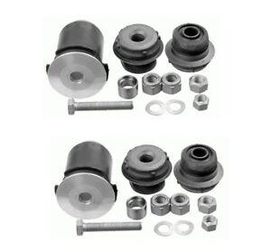 Pair Set 2 Front Lower Control Arm Bushing Kits Lemforder For W140 600SEC S420