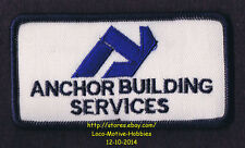LMH PATCH Badge ANCHOR BUILDING SERVICES Cleaning Janitorial Supplies CHICAGO IL