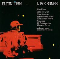 ELTON JOHN love songs (CD, compilation) soft rock, downtempo, classic rock, pop