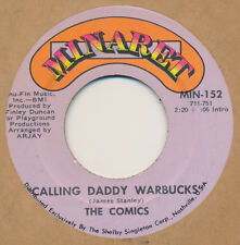 The Comics Calling Daddy Warbucks / Red Rider 45 Novelty Funk (Hear It)