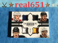 2013 NHL Rookie Auto-Patch ALEX GALCHENYUK | MARTIN JONES | JACOB TROUBA | DUMBA