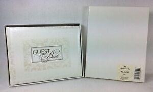 Hallmark Cards Antique Pattern Wedding Guest Book Album WCA3513