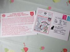 SUNDERLAND Winners FA Cup 1973 Enter into Europe FOOTBALL First Day Cover FDC