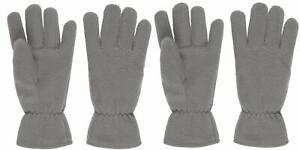 2 Pack Kids Winter Gloves Warm Fleece Gloves for Boys or Girls