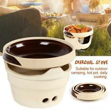 Charcoal Stove Refractory Clay Grill Furnace Tea Stove High Temperature Hot Pot