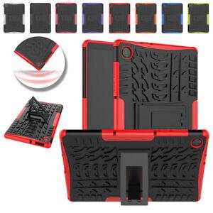 "Rugged ShockProof Armor Tablet Case for 10.3"" Lenovo Tab M10 FHD Plus TB-X606F/X"