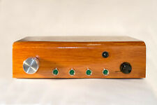 Domino A1 passive preamplifier: 4-to-1 remote input selector with volume control