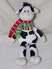 GUND CROSBY COW SOFT TOY BLACK WHITE COMFORTER DOUDOU 88195