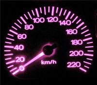 Pink LED Dash Instrument Cluster Light Upgrade Kit for Honda Prelude 97-01