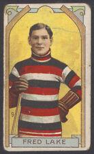 1911-12 C55 IMPERIAL TOBACCO #9 FRED LAKE OTTAWA SENATORS STANLEY CUP CHAMP