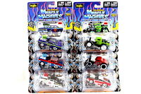 Maisto Muscle Machines New 2012 Set of 6, Chevy,Ford,Dodge,Plymouth 1/64 Diecast