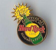Hard Rock Cafe Niagara Falls Canada 1st Anniversary Pin