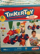 Tinkertoy Transit Building Set 56539 Playskool 150 Pieces K'Nex Complete