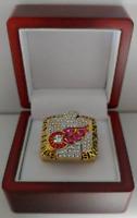 Steve Yzerman 2002 Detroit Red Wings Stanley Cup Hockey Custom Ring W Wooden Box