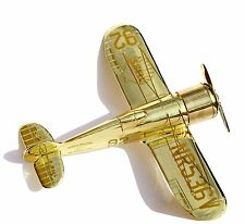 Father Day Gifts - Diecast Airplanes Shell Golden Edition Wedell-Williams Racer