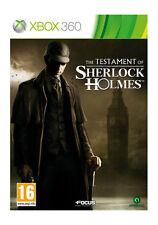 Le Testament de Sherlock Holmes (Xbox 360), très bon Xbox 360, Xbox 360 Vidéo