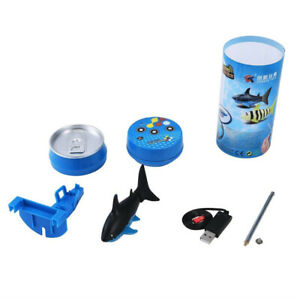 Electronic Remote Controlled Robot Swimming Shark Water Toy