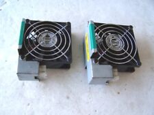 Computer Cooling Fans 12VDC 0.51A 80mm. Delta model AFB0812SH lot of 2 used OK