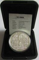 Niederlande 50 Euro 1996 Constantijn Huygens Silber