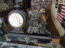 Antique Ansonia Figural Clock Trojan Or Spartan