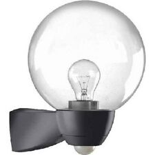 Außen Wandlampe mit Bewegungsmelder 130° ESYLUX EL10026119 sw Modell AL P Monza