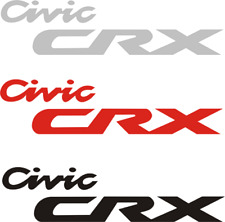 Honda  Civic CRX Decal