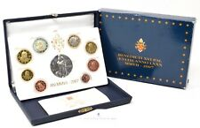 More details for 2007 mmv11 ufficio numismatico benedict proof coin set silver medal italy