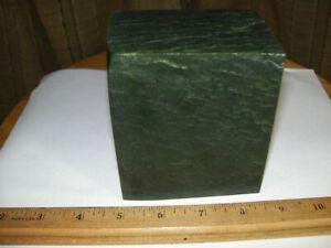 Wyoming Green Jade Rough,  3 lb. 10 oz.