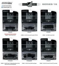 GREENLIGHT BLACK BANDIT SERIES 16 SET OF 6 FORD CHEVY 1/64 DIECAST CAR 27880