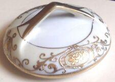 NORITAKE CHRISTMAS BALL SUGAR BOWL LID ONLY 43061 GOLD TRIM
