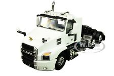 MACK ANTHEM DAY CAB TRUCK TRACTOR WHITE 1/64 DIECAST MODEL BY FIRST GEAR 60-0595