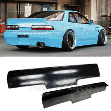 For Nissan 89-94 240SX S13 Coupe Bunny Style Rear Trunk Spoiler Fiber Glass