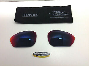 RUDY PROJECT ZYON MULTILASER RED SPARE LENSES !!! GREAT USED CONDITION ! RARE !!