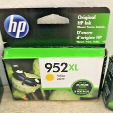 NEW HP GENUINE INK CARTRIDGE 952XL YELLOW EXP 2021+