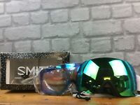 SMITH I/O MAG 2020 GOGGLES BLACK CHROMAPOP S SNOWBOARDING SKIING RRP £230 C