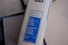 CATERPILLAR 637E PAN Scraper Owner Operator Repair Shop Service Manual operation