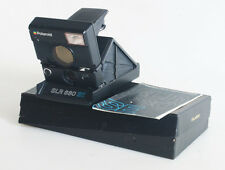 POLAROID SLR 680 SE IN ORIGINAL BOX WITH MANUAL