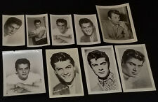 1950's - TONY CURTIS - MOVIE STAR - FAN CLUB - PHOTOS (9) - ORIGINAL
