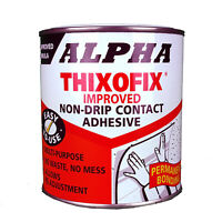 Contact Adhesive Cement Glue Flexible Bonding Foam, Metal, Wood Plastic DIY