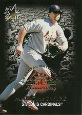 1998 Leaf Fractal Materials Samples Mark McGwire 171 Cardinals