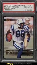 2000 Collector's Edge Graded Uncirculated Marvin Harrison /5000 #147 PSA 10 GEM
