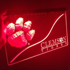 Clemson Tigers, Led Neon Sign for Game Room,Office,Bar,Man Cave, New!
