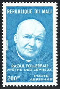 Mali C234, MNH Raoul Follereau, Educator De The Store Et Lepers, 1974