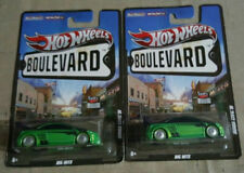 2011 Mattel Hot Wheels Boulevard Green Honda Civic Si - Big Hits 1/64 Lot 2