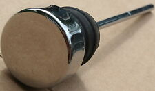 Used Oil Tank Plug Rubber Press In Style Chrome Cap High Quality Chopper (U-610)