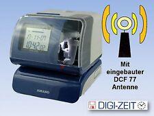 Amano PIX 200 Stempeluhr für Auftragserfassung mit DCF 77 Antenne